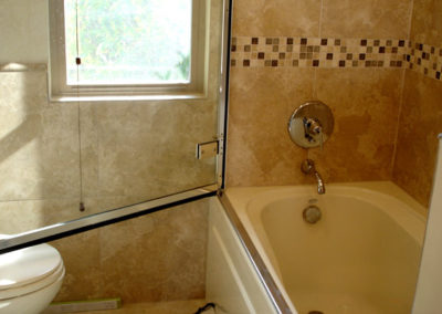 Master Bath, Tiled Tub