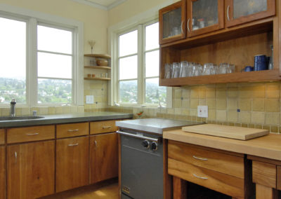 Kitchen, Cabinets